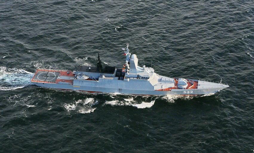 俄罗斯守护级轻型护卫舰敏捷号