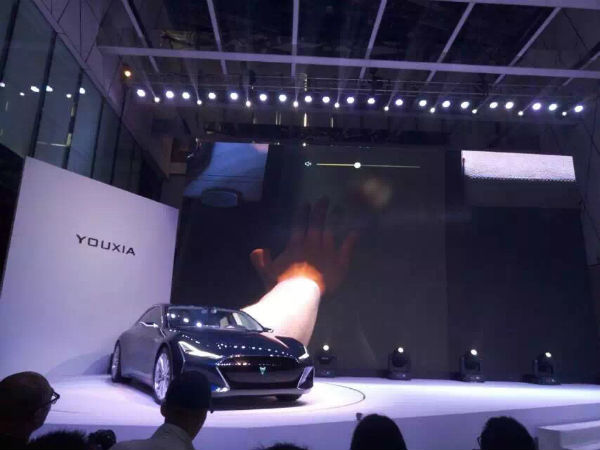 游侠X 电动汽车发布 2017年上市高清图片