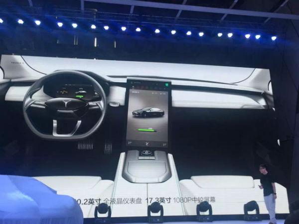 斯拉 游侠X 电动汽车发布 2017年上市高清图片