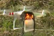 欧洲导弹集团测试激光武器击毁大疆无人机