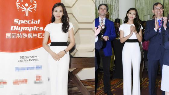 刘涛任大使出席特奥会 助力中国代表团