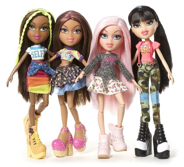 少女玩偶布拉茨推全新形象时髦装扮受推崇