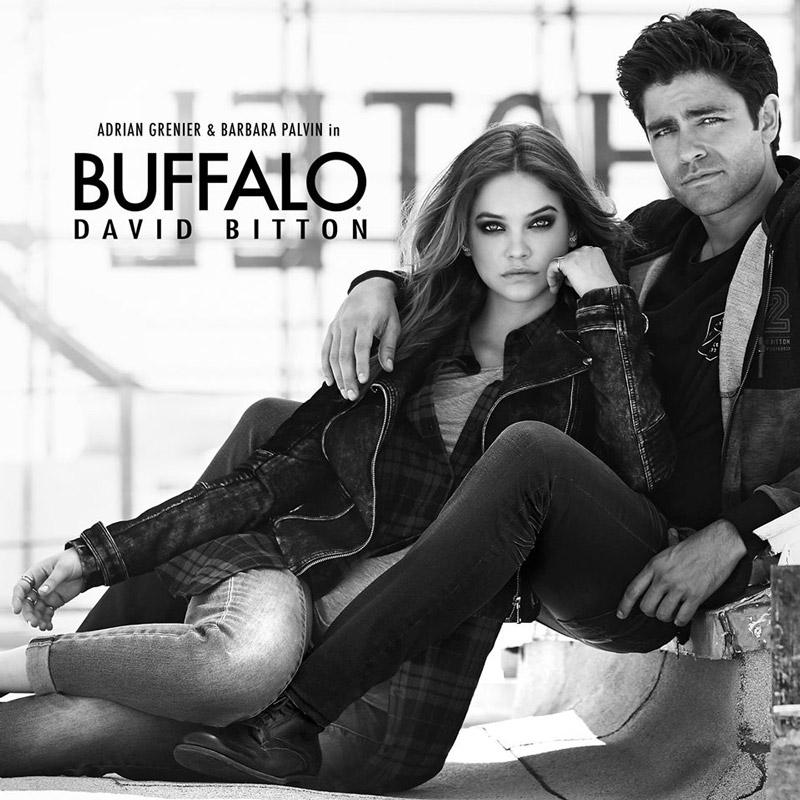 芭芭拉·帕尔文出镜Buffalo David Bitton 2015秋冬系列广告大片