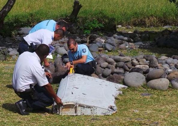 法属留尼汪岛发现一块飞机残骸 法方展开调查