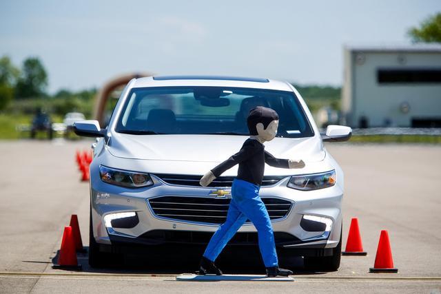 通用发力主动安全 新车将搭载22项新技术