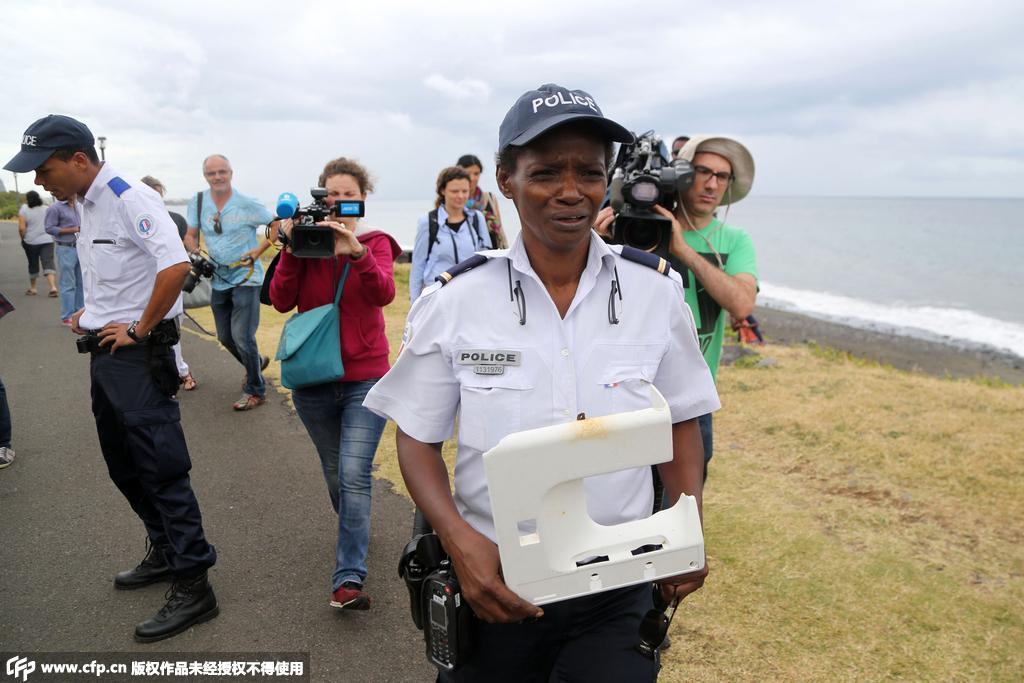 法属留尼汪岛再现疑似MH370塑料碎片