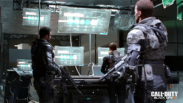 GC 2015:《使命召唤12:黑色行动3》公布新截图