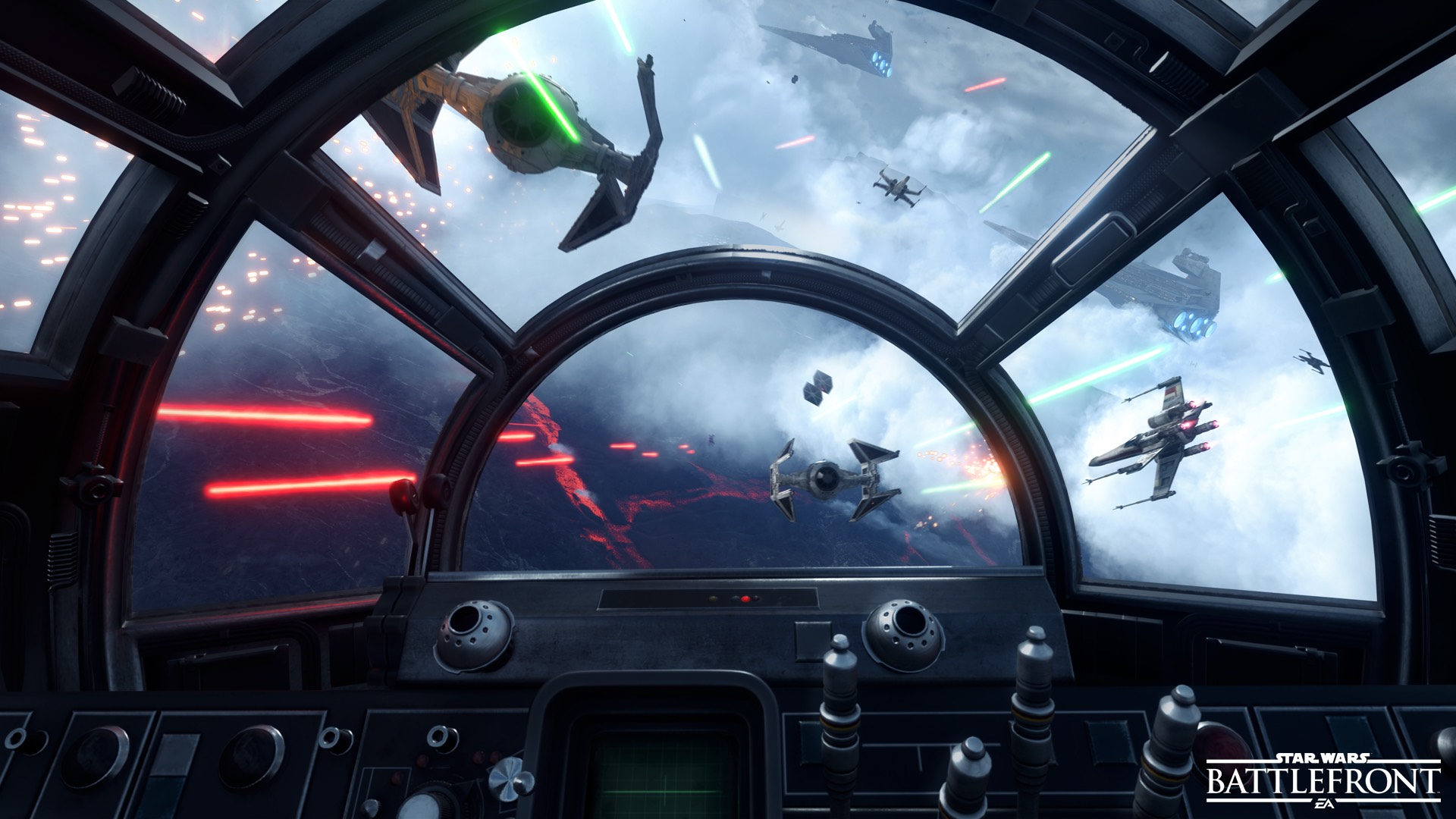 GC 2015:《星球大战:前线》新截图 火爆空战登场
