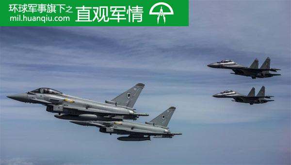印苏-30MKI演习吊打台风战机?实战中或被吊打