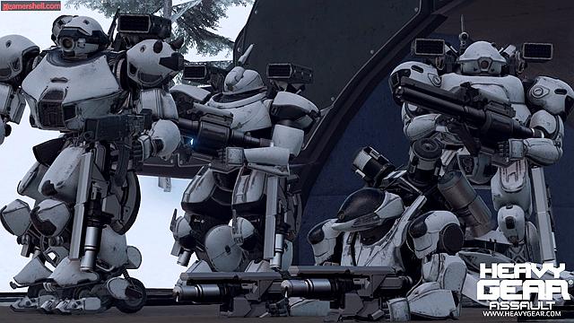 虚幻引擎4机甲作品《重装机甲突击》公布游戏截图