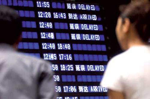 港媒:中国航班延误率4年连升 将与军方谈新航线