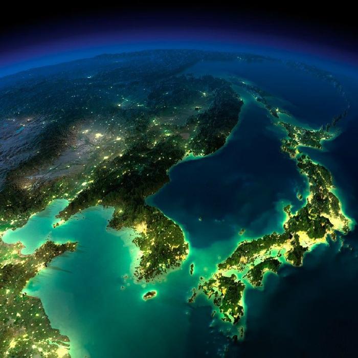 从高空俯视地球 美的令人窒息图片