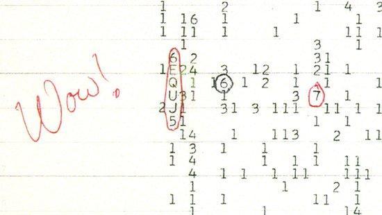 未解之谜:人类是否收到外星人所发的信号?