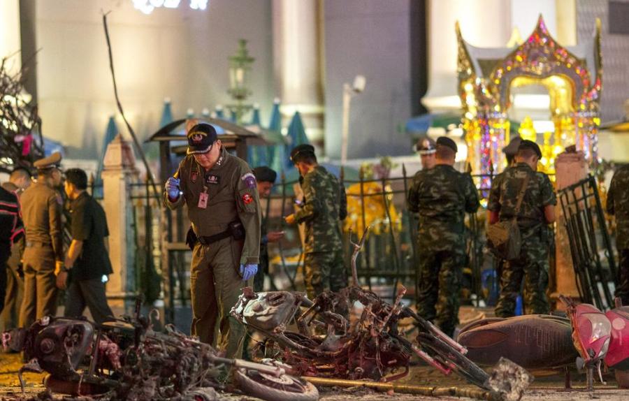 社评:恐袭将严重冲击中国人的泰国游