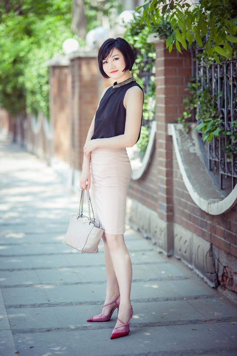 七夕美搭丨时尚名博Ginger的妩媚裹裙