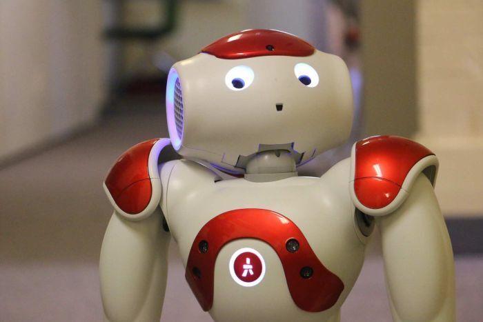 机器人也在进行语言训练 未来或能干简单家务