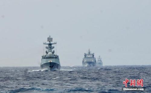 亚博国际:联合军演是亚太纵横捭阖游戏吗