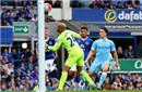 英超-铁卫破门纳斯里建功 曼城2-0埃弗顿取3连胜