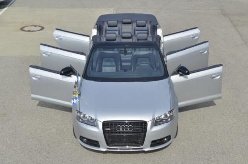 奥迪德国发布六门版A3敞篷车 可搭乘八人
