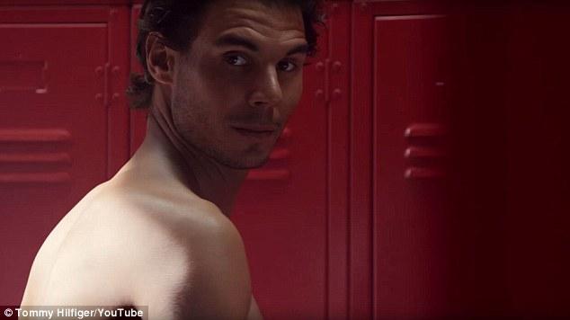 西班牙网球明星拉菲尔•纳达尔出镜汤米•希尔费格广告