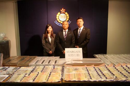 香港警方展开反黑行动 瓦解一洗黑钱组织拘捕37人