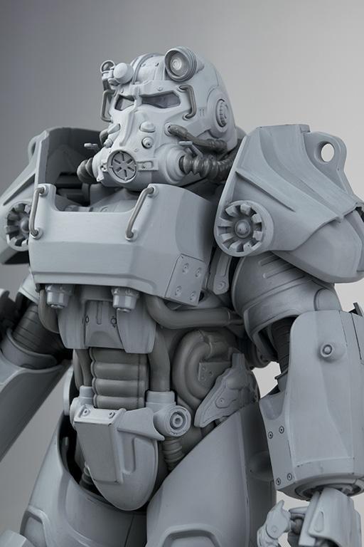 《辐射4》公布动力装甲模型 超高还原度霸气外露