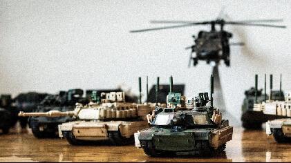 桌子上的战争:M1A2模型鉴赏