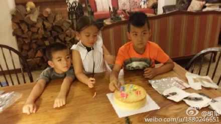 东莞一夫多妻_刘涛带儿女到胡军家做客 女儿和康康变新CP_娱乐_环球网