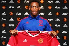 曼联宣布签19岁新亨利 转会费5000万欧穿9号