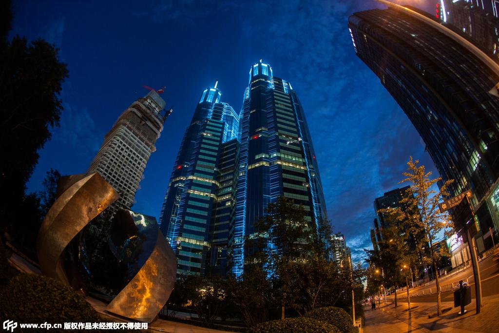 北京全市景观照明设施全部开启