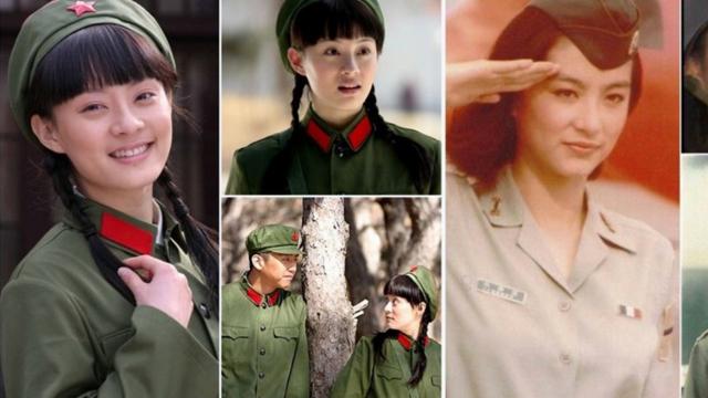 细数荧屏上华人女星的军装照