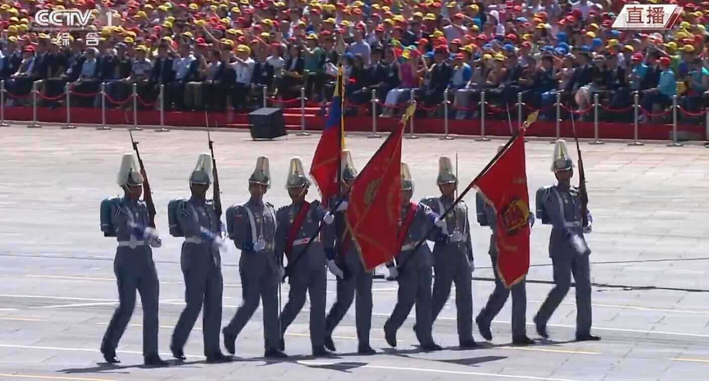 外军方队代表队依次走过天安门受阅 -  东方.旭 - 东方.旭的博客