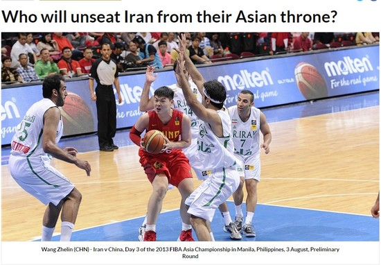 FIBA:男篮将挑战伊朗地位 最强天赋新星将助阿联