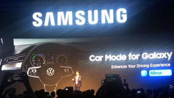 三星发布车载系统 Car Mode for Galaxy