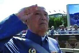 新四军92岁老兵赴北京阅兵 好几天睡不着觉