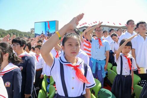 小学生眼中的抗战胜利阅兵