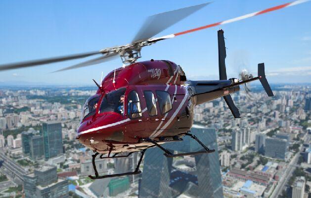 贝尔直升机携贝尔407GX亮相天津直升机博览会