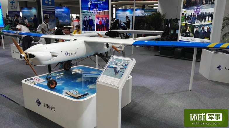 双头鹰无人机发动机布置先进 大大提高续航能力