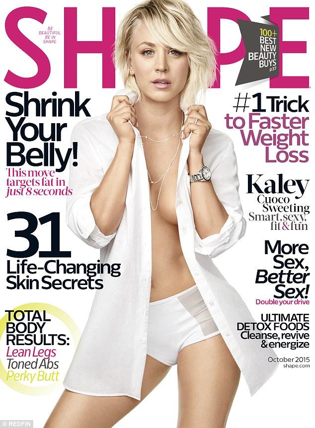 《生活大爆炸》女星卡蕾·措科登《Shape》杂志封面