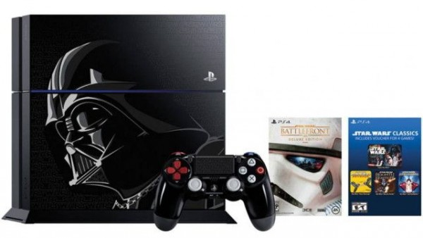 压迫感强大 索尼推出炫酷星战主题限定PS4