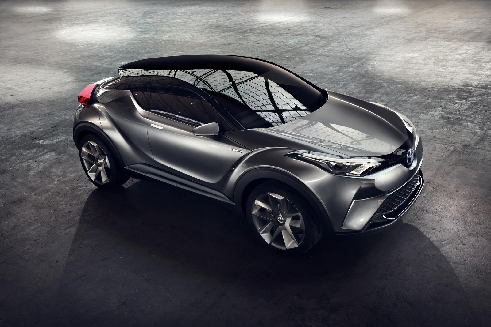 丰田全新C-HR概念车 法兰克福亮相