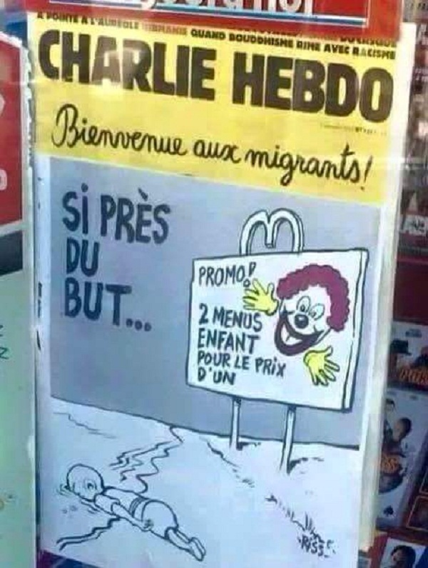 社评:查理周刊让欧洲良心折损一半
