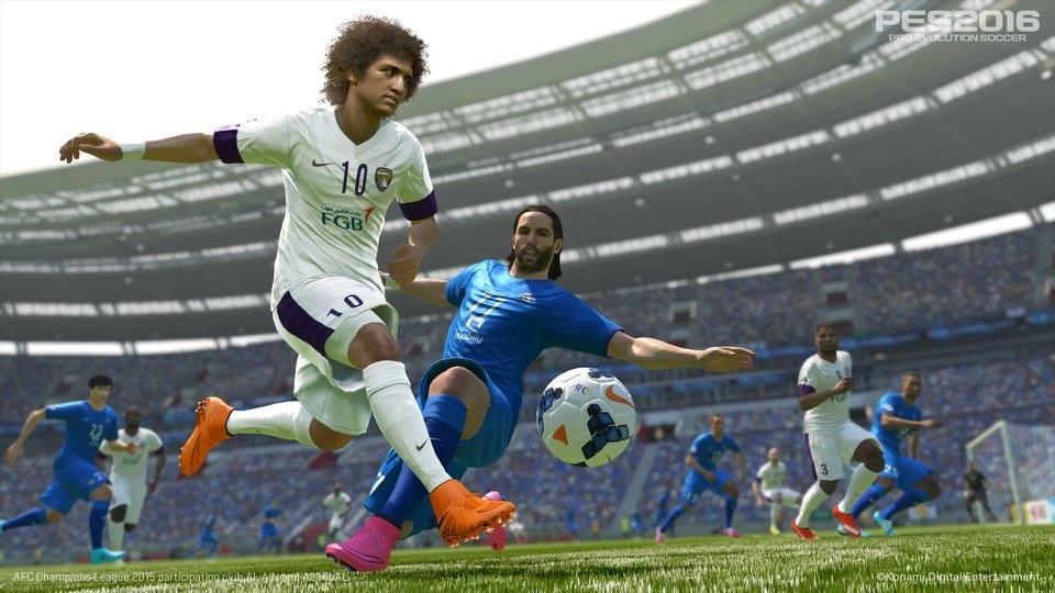 《实况足球2016》发售 Konami发布了一批新截图