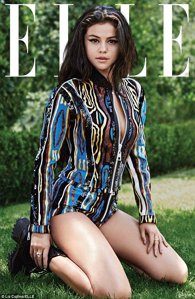 """赛琳娜•戈麦斯登《Elle》杂志封面 回应同贾斯汀比伯""""复合""""传闻"""
