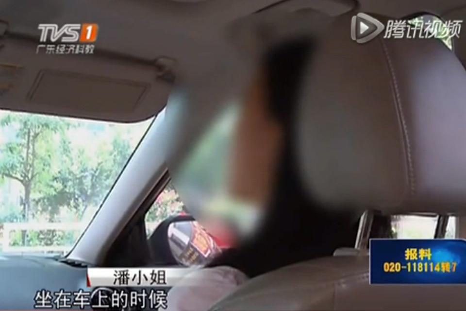 美女酒后吐槽黑车被车窗夹拖行数十米 社会