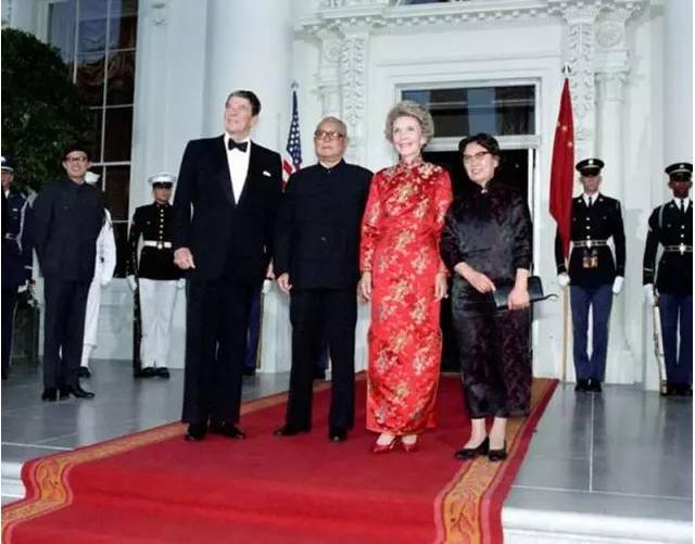 盘点历任中国领导人访美图片