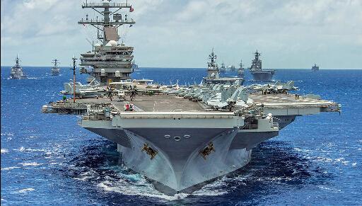 剑指中国:第七舰队最强航母进驻日本