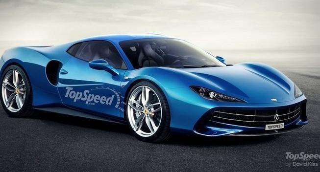 法拉利全新Dino或采用580马力V6发动机