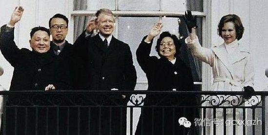 美国如何接待江泽民胡锦涛等中国前领导人