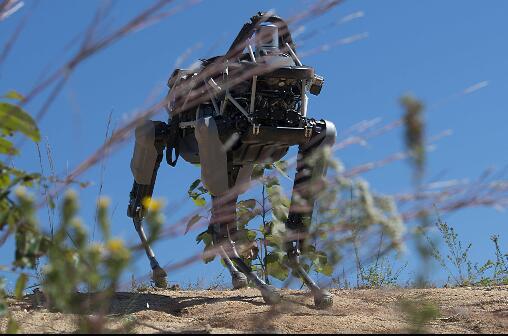 注意!美军新型机器狗出没